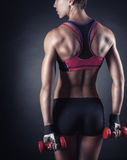 Athletic woman Royalty Free Stock Image