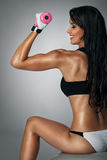 Athletic woman Stock Image