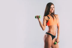 Athletic woman. Stock Photography