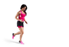 Athletic woman runner Stock Photo