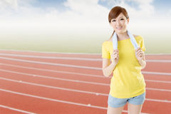 Athletic woman Royalty Free Stock Photography