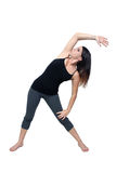 Athletic Woman Stretching (1) Royalty Free Stock Photo