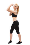 Athletic young lady Stock Photography