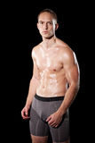 Athletic Young Man Stock Photography