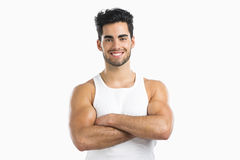 Athletic young man Royalty Free Stock Photography