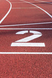 Athletics Stock Photography