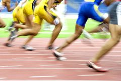 Athletics Stock Photo