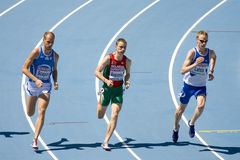 Athletics 800m Royalty Free Stock Photo