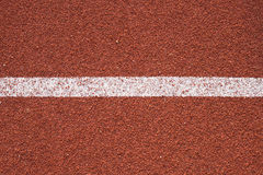 Athletics all weather running track texture Royalty Free Stock Photography