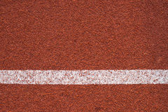 Athletics all weather running track texture Stock Photography