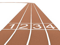 Athletics arena  �5 Royalty Free Stock Images