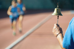 Athletics bell final round Stock Images