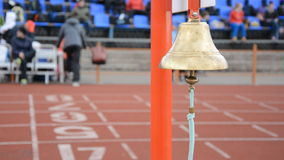 Athletics bell final round stock video