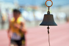 Athletics bell Stock Image