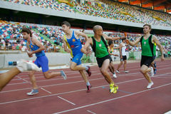 Athletics Championship, 4x400 meters men Stock Image