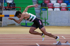 Athletics Championship, Joao Ferreira Royalty Free Stock Images