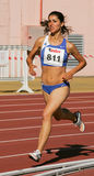 Athletics Championship,  Lidia Sousa Royalty Free Stock Photo