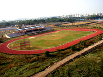 Athletics Complex. A beautiful athletics sports complex Royalty Free Stock Images