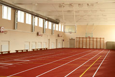 The athletics hall Stock Images