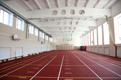The athletics hall Stock Photos