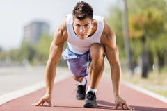 Athletics Stock Photography