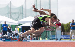 Athletics Royalty Free Stock Photo