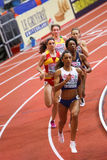 Athletics - 400m Woman Royalty Free Stock Images