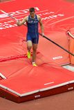 Athletics - Mihail Dudas; Man Heptathlon, Pole Vault Stock Images