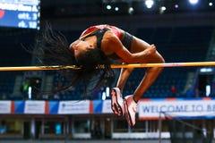 Athletics - Pentathlon Women High Jump - NAFISSATOU THIAM Royalty Free Stock Image