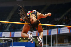 Athletics - Pentathlon Women High Jump - NAFISSATOU THIAM Stock Photos