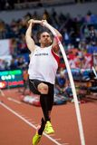 Athletics - Pole Vault man Heptathlon, DISTELBERGER Dominik Royalty Free Stock Images
