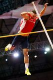 Athletics - Pole Vault man Heptathlon, HELCELET Adam Sebastian Royalty Free Stock Photos