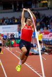 Athletics - Pole Vault man Heptathlon, HELCELET Adam Sebastian Royalty Free Stock Image