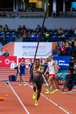 Athletics - Pole Vault man, HOLZDEPPE Raphael Royalty Free Stock Photos