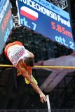 Athletics - Pole Vault man, WOJCIECHOWSKI Pawel Stock Photo