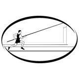 Athletics. Pole vaulting-1 Stock Images