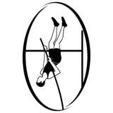 Athletics. Pole vaulting Royalty Free Stock Image