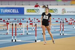 Athletics record attempt races Royalty Free Stock Photography