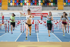 Athletics record attempt races Royalty Free Stock Images