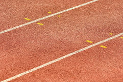 Athletics Running Track Stock Photos