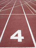 Athletics running track 4 Stock Photos