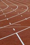 Athletics running tracks Royalty Free Stock Photo