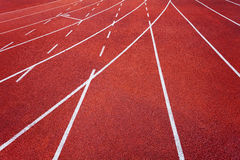 Athletics runway Royalty Free Stock Photo