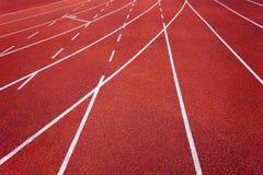Athletics runway Royalty Free Stock Photo