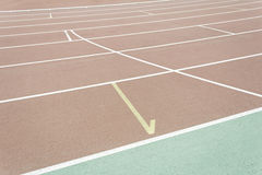 Athletics sports club Royalty Free Stock Photo