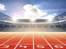 Athletics stadium Stock Photography