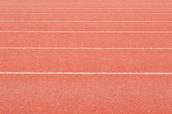 Athletics stadium running track royalty free stock photos