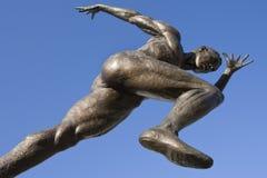 Athletics Statue - Manchester - England Stock Photo