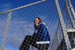 Athletics supporter Royalty Free Stock Photos