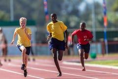 Athletics Teenagers Sprint